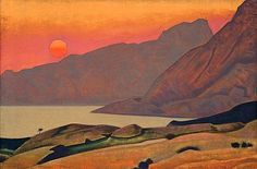 Monhegan, Maine by Nicholas Roerich - 1922