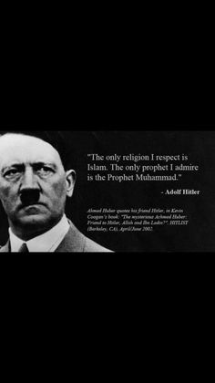 "r/The_Donald - The only quote you will ever need to understand the threat posed by Islam. (So much for the idea that Trump is ""Literally Hitler"", lol. Prophet Muhammad Quotes, Sharia Law, Thing 1, Great Leaders, Islamic Quotes, Current Events, Quran, Allah, Christianity"