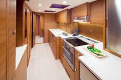 Solaris Yachts 72 Classic - Galley