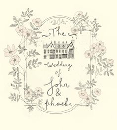 Wedding stationery. Katt Frank design.