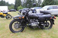 OldMotoDude: Ural Sidecar rig at the 2020 Marymount AHRMA Vinta... Triumph Motorcycles, Vintage Motorcycles, Dirtbikes, Sidecar, Street Bikes, Trials, Mustang, Old Things, Cars