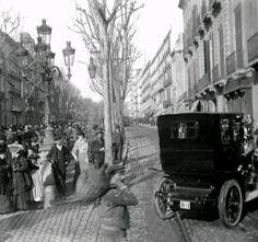 1907. Primer cotxe matriculat a Barcelona, un Berliet propietat de Rupert Garcia.