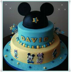 Bolo Baby Disney. #bolo #boloinfantil #kidscake #cake