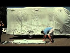 How to Care for Your RV Cover