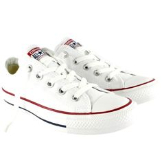 Converse Unisex Chuck Taylor All Star Low Top Optical White Sneakers - 13 Men 15 Women (*Partner Link) Converse All Star Ox, Converse Low Tops, Converse Chuck Taylor All Star, Chuck Taylor Sneakers, Sneakers Mode, White Sneakers, Sneakers Fashion, Converse Sneakers, Chuck Taylors