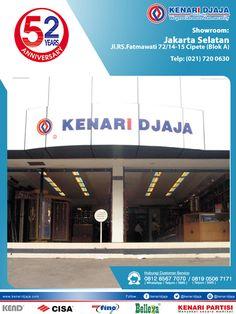 Sahabat KENARI DJAJA Yang Berada Di JAKARTA SELATAN, Anda Mencari Perlengkapan Pintu Dan Jendela ? ... Kunjungi Showroom Kami Segera ...  Kami Ada Di : Jl. RS. Fatmawati 72/14-15, Cipete (Blok A) Telp : (021) 720 0630, Fax : (021) 724 3741 Jakarta Selatan  Informasi Hub. : Ibu Tika 0812 8567 7070 ( WA / Telpon / SMS ) 0819 0506 7171 ( Telpon / SMS )  Email : digitalmarketing@kenaridjaja.co.id  [ K E N A R I D J A J A ] PELOPOR PERLENGKAPAN PINTU DAN JENDELA SEJAK TAHUN 1965
