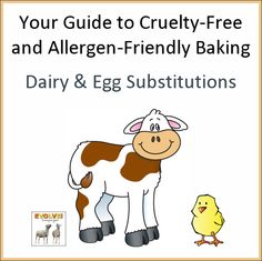 No eggs or dairy? Dairy Free Baking, Dairy Free Eggs, Egg Free, Cruelty Free, Cooking Tips, Good Food, Gluten, Vegan, Vegans
