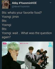 Jimin at the end like OMG yoongi