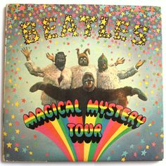 The Beatles Beatles Albums, Beatles Art, The Beatles, Magical Mystery Tour Movie, Blue Jay Way, El Rock And Roll, I Am The Walrus, British Traditions, Tour Posters