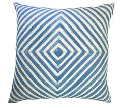 Blue - Lucy in the Sky Pillow
