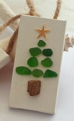 Sea Glass Holiday Ornament