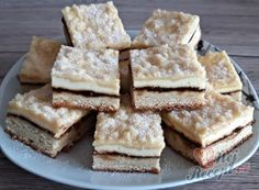 Sweet Recipes, Cake Recipes, Czech Recipes, Eclairs, Creative Cakes, Waffles, Cheesecake, Deserts, Food And Drink