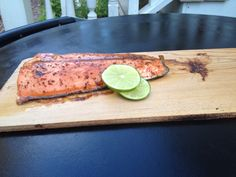 Fish is easy- especially with an EVO grill and cedar plank. Company ready in under 20 minutes.