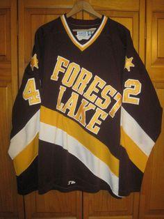 Forest Lake Rangers high school hockey jersey men's XL #42 Minnesota | Sports Mem, Cards & Fan Shop, Fan Apparel & Souvenirs, Hockey-Other | eBay!