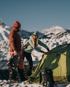 Winter camping? A NO-GO or totally your thing?   Camping in the winter has its perks. There are fewer bugs and crowds while you experience the beauty and peacefulness of the winter wonderland. But, if you're not prepared, it can also be cold and challenging.   How many nights you have spent outdoor so far this year?  Snowboarding, Skiing, Lifelong Friends, Ski Wear, Winter Camping, Winter Wonderland, Bugs, Organic, Cold