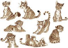 New drawing animals baby design reference 67 ideas Character Design Cartoon, Character Design References, Character Design Inspiration, Character Art, Big Cats Art, Furry Art, Cat Art, Tiger Drawing, Tiger Art