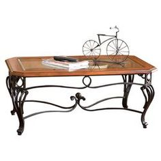 Troy Coffee Table in Cherry