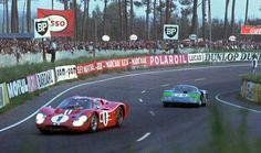 Dan Gurney, AJ Foyt Le Mans GT40 MarkIV 1967