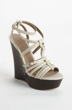 1623b395fc9 Burberry  Strone  Wedge Sandal available at  Nordstrom  695 Flat Sandals