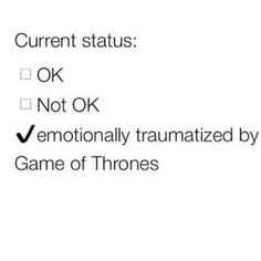 Me after watching Game of Thrones Season 5 finale...