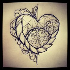 Miss Juliet heart tattoo 2