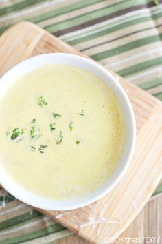 Quick Asparagus Soup
