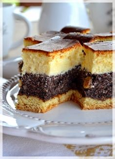 Kitchen Notes M . Sweet Recipes, Cake Recipes, Dessert Recipes, Baklava Cheesecake, Kitchen Notes, Poppy Seed Cake, Polish Recipes, Christmas Cooking, Food Cakes