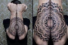 Geometric Tattoo on Arms