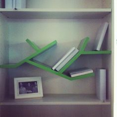 "DING3000's ""Pimp My Billy"" shelf from @Tendence_ in 2005. An early Ikea hack!"