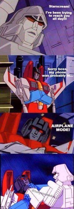 Transformers humor - GAG