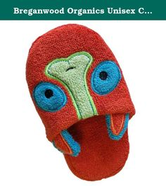Breganwood Organics Unisex Child Cotton Slippers Toddler (2-4 yrs). Breganwood Organics Kids' Animal Slippers keep little feet warm and comfortable! Your little ones will love these slippers, and best of all they coordinate with our Rainforest & Woodland Collections of hooded towels and bath mitts. Easy to slip on, your little will be proud that they can put them on all by themselves! You know kids often like to go barefoot, but with these adorable slippers, they will be happy to wear them…