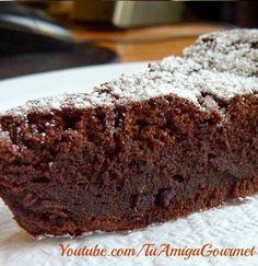 Receta: Bizcocho de Chocolate con 3 ingredientes