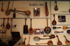 Instruments at the Museum of Appalachia