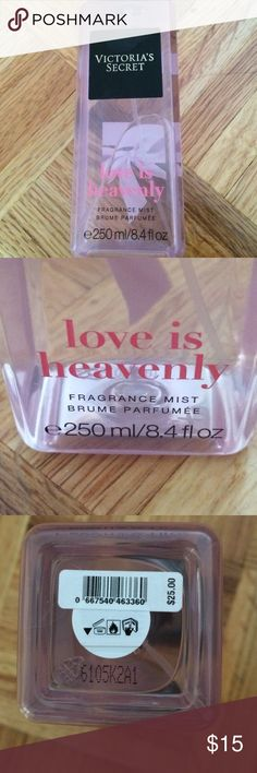 VS LOVE IS HEAVENLY FRAGRANCE MIST Beautiful fresh clean sexy smell Victoria's Secret Other