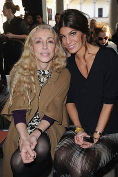 Franca Sozzani Photos - Missoni: Front Row - Milan Fashion Week Womenswear Autumn/Winter 2012/2013 - Zimbio