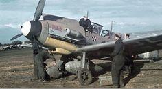 Messerschmitt Bf 109F-4 Trop ′White 1′ 4./JG 3 Lt. Albert Helms