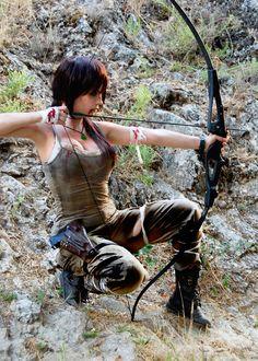 Lara Croft cosplay by MitsuYomi