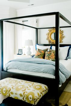 A splash of yellow: http://www.stylemepretty.com/living/2015/03/08/15-amazing-beds-perfect-for-a-lazy-sunday/