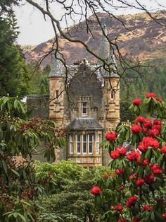 """pagewoman: """" Benmore House, Dunoon, Argyll and Bute, Scotland by Martyn Gorman """""""