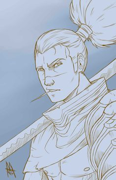 Sketch of Yasuo