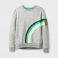 56b09141f2a Patrick s Day shirt for my baby girl Riley! Cat   Jack at Target always has  cute holiday stuff (aff link)