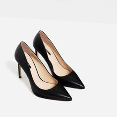 b4fdf3899d3 Rank   Style - Zara Leather High Heel Shoes  rankandstyle Shoes For Less