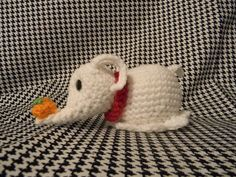 Nightmare Before Christmas Zero 5 by KnitsyBitsys on Etsy, $15.00    This is so epic.