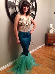 homemade mermaid costumes - Google Search