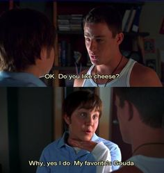 shes the man. one of the best movies! Series Quotes, Movie Quotes, Funny Quotes, Tv Quotes, Tv Series, Funny Movies, Great Movies, Funniest Movies, Love Movie