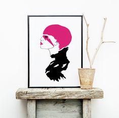 Punk Fine Art Prints, Poster, Punk, Design, Home Decor, Picture Frame, Decoration Home, Room Decor, Art Prints