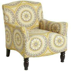 Yellow/grey chair