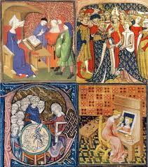 Resultado de imagem para a vida nos mosteiros na idade media