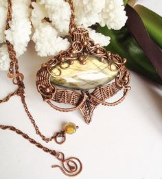 Art Nouveau Labradorite Jewelry Necklace Labradorite Necklace
