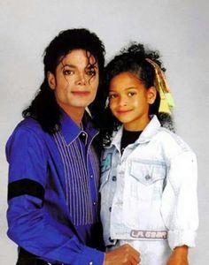 Michael & his niece Brandi Jackson